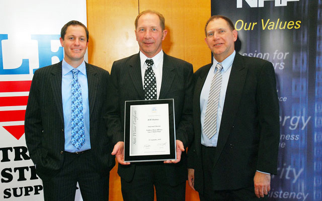 NECA Excellence Award 2009 - Andrew Dwyer, Bruce and Colin Duff